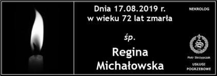 Ś.P. Regina Michałowska