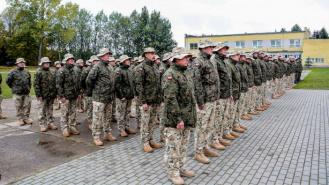 Żołnierze wyjeżdżają do Iraku. Dzisiaj ich pożegnano w Złocieńcu