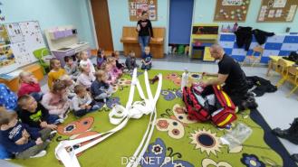 Każdy przedszkolak chce być strażakiem. I przez chwilę była ku temu okazja
