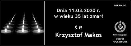 Ś.P. Krzysztof Makos