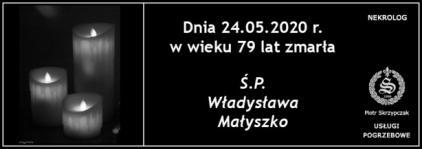 Ś.P. Władysława Małyszko