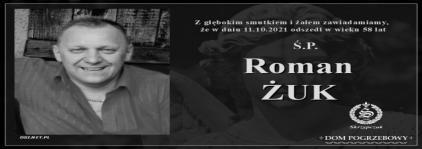 Ś.P. Roman Żuk