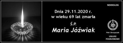 Ś.P. Maria Jóźwiak