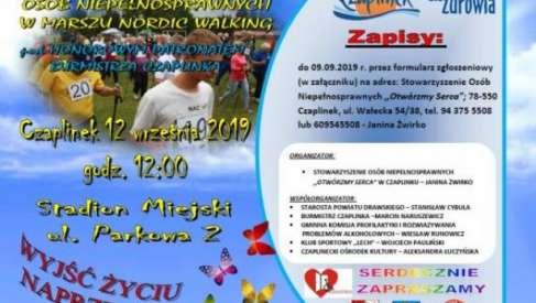2019-09-12 VI Mistrzostwa Powiatu Osób Niepełnosprawnych – Marsz Nordic Walking
