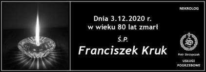 Ś.P. Franciszek Kruk